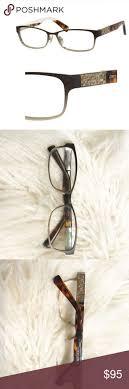 Jimmy Choo luxury jc124 rhinestones <b>glasses</b> Authentic gently worn ...