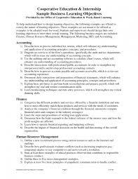 resume objective pharmacy intern cipanewsletter resume template finance internship resume objective summary