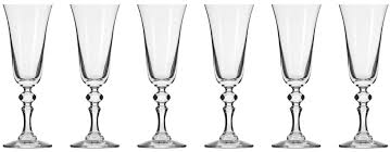 "<b>Набор фужеров для шампанского</b> Krosno ""Криста"" 150мл, 6 шт ..."