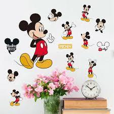 <b>Mickey Mouse</b> Minnie <b>Vinyl</b> Wall Decals Sticker for Kids Nursery ...