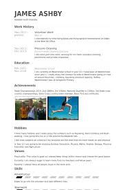 Resume For Volunteering Sample  resume volunteer experience sample