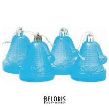 <b>Украшения</b> елочные подвесные Колокольчики, набор 4 шт., 6,5 ...
