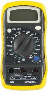 <b>Мультиметр IEK Master</b> MAS830L <b>цифровой</b> купить в интернет ...