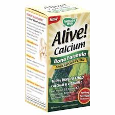 Nature's Way Alive! Calcium Bone Formula Max ... - Food 4 Less