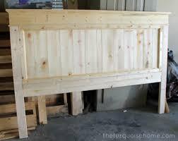 Diy Wood Headboard Diy Farmhouse Headboard How To Bed Headboards Ana White And Fancy