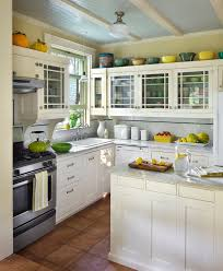floor tile kitchen traditional apron sink countertop dishwasher kitchen traditional with beadboard ceiling brown