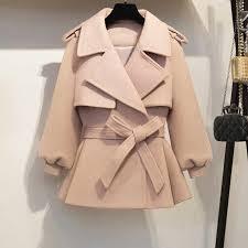 KMETRAM 2019 Woolen Coat <b>Female Jacket</b> Autumn Winter <b>Jacket</b> ...