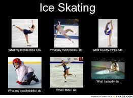 Figure Skating Figure Skating Memes | Free Quotes via Relatably.com