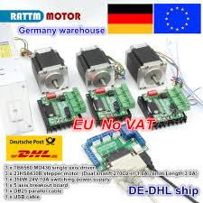 3 <b>Axis CNC</b> Router <b>Kit</b> 3pcs <b>1 axis</b> TB6560 driver & interface board ...