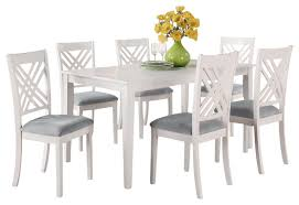 glass rectangle table white