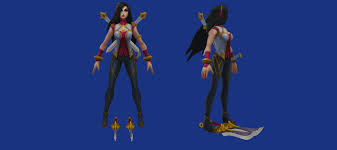 Just curious, do Katarina and <b>Nidalee</b> really need boob windows in ...