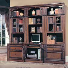 antique bookshelves wall unit with antique mahogany large home office unit
