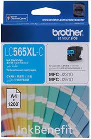<b>Картридж Brother LC 565 XLC</b> голубой купить в интернет ...