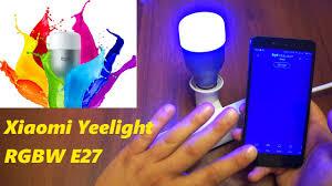 волшебная wifi <b>лампа</b> xioami yeelight <b>rgbw</b> e27. gearbest