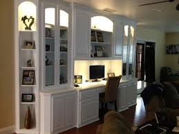 built in home office built home office
