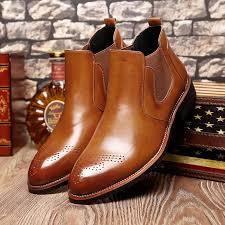 <b>Misalwa</b> Casual Oxford Style Men <b>Chelsea Boots</b> Spring Autumn ...