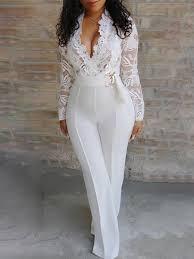 <b>2019</b> Summer <b>Women Elegant White</b> Sexy V-Neck Slim Fit Outfit