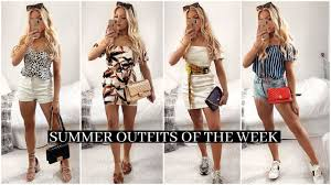 <b>SUMMER OUTFITS</b> OF THE WEEK <b>2019</b>! / <b>Casual</b> Outfit Ideas ...