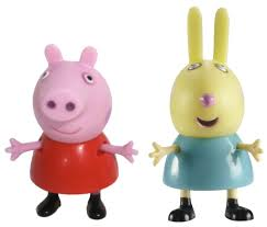 <b>Peppa Pig</b> Набор <b>фигурок</b> Пеппа и Ребекка — купить в интернет ...