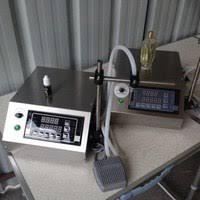 led display liquid filling machine viscous dispenser peristaltic pump