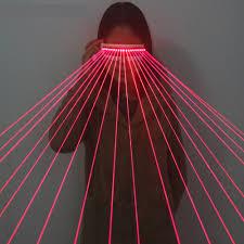 <b>650nm</b> Red Laser Glasses / Luminescent Glasses / 18 <b>pcs</b> Laser ...