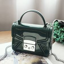 <b>2018 Hot Sale Women</b> Silicone Candy Color Handbags Small ...