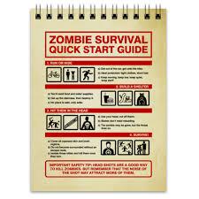 Блокнот Зомби апокалипсис. Инструкция по выживанию ...
