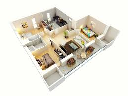 More Bedroom D Floor Plans