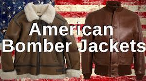 Leather <b>Bomber Jacket</b> History - YouTube