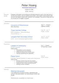 doc first resume no work experience template com resume writing for high school students no job experience