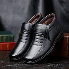 <b>Men's Cotton Shoes Men's Boots Winter</b> Plus Velvet <b>Men's Shoes</b> ...