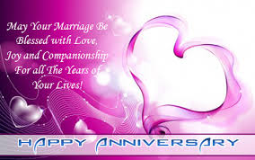 HAPPY MARRIAGE ANNIVERSARY SMS Wishes For Wife Husband ...