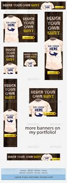 t shirts design banner ad template by admiral adictus graphicriver t shirts design banner ad template banners ads web elements