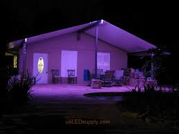 outdoor led lighting ideas. florida garage patio uses led lighting and becomes the perfect spot for catered events outdoor led ideas