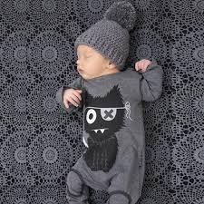 <b>baby</b> rompers <b>newborn baby boy</b> girl clothes long sleeve <b>cartoon</b> ...