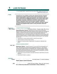 of a teacher resume  tomorrowworld coexample of teacher resume example of