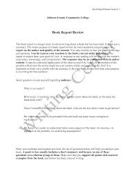 college book report example format sample 669081 png best photos it