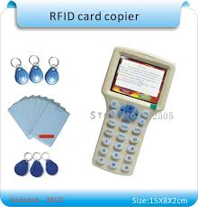 Updated version English version 10 frequency RFID Copier ID <b>IC</b> ...