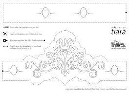 princess tiara coloring pages circus crafts princess tiara coloring pages
