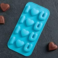 """<b>Форма для льда</b> и шоколада <b>20</b>×10 см """"Я тебя люблю"""", 12 ячеек ..."""