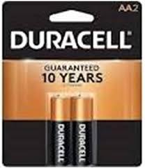 <b>Duracell AA</b> Alkaline Batteries 1.5v (2 Pack) MN1500 (<b>LR6</b>)