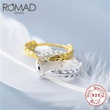 <b>ROMAD 925 Sterling Silver</b> Cute Dainty Thin Rings For Women ...