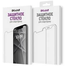 <b>Стекло защитное</b> Full Glue <b>Krutoff для</b> iPhone 7 Plus/8 Plus черное