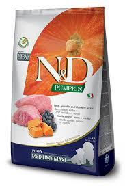 <b>N&D</b> Pumpkin <b>GF Dog</b> Food <b>Puppy</b> Lamb & Blueberry - Furchild