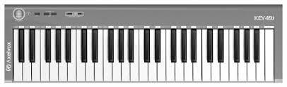 <b>MIDI</b>-<b>клавиатура Axelvox KEY49j</b> — купить по выгодной цене на ...
