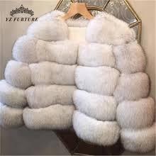 New arrival <b>Drop Shipping</b> women winter real fox fur coat short <b>style</b> ...