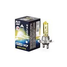 Галогенная <b>лампа AVS</b>/<b>ATLAS</b> ANTI-FOG/BOX желтый <b>H7</b>,12V ...