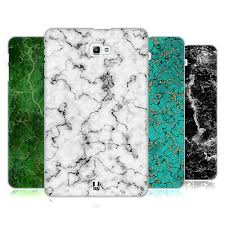 head case designs <b>marble prints hard</b> back case for samsung tablets 1