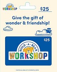 Build-A-Bear Gift Card $25: Gift Cards - Amazon.com