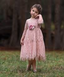 <b>Trish</b> Scully Child | Pink <b>Lace Bella</b> Rafaela Dress - Infant, Toddler ...